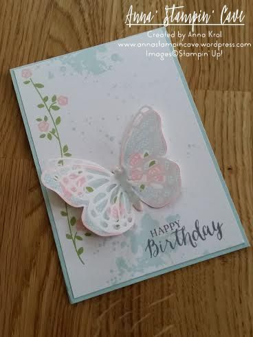 Birthday butterflies pinterest butterfly birthday third butterfly birthdays three birthday cards i created using same stamp set and different colour combinations x m4hsunfo