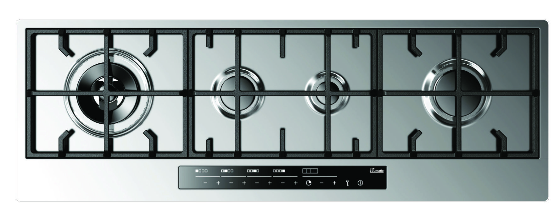 An in-line gas hob could be a good space saving solution.   בית ...