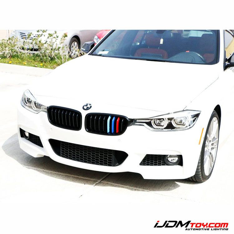 Exact Fit M Colored Grille Insert Trims For Bmw F30 F31 3