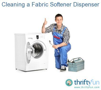 Cleaning A Fabric Softener Dispenser Washing Machine Service Dryer Repair Appliance Repair