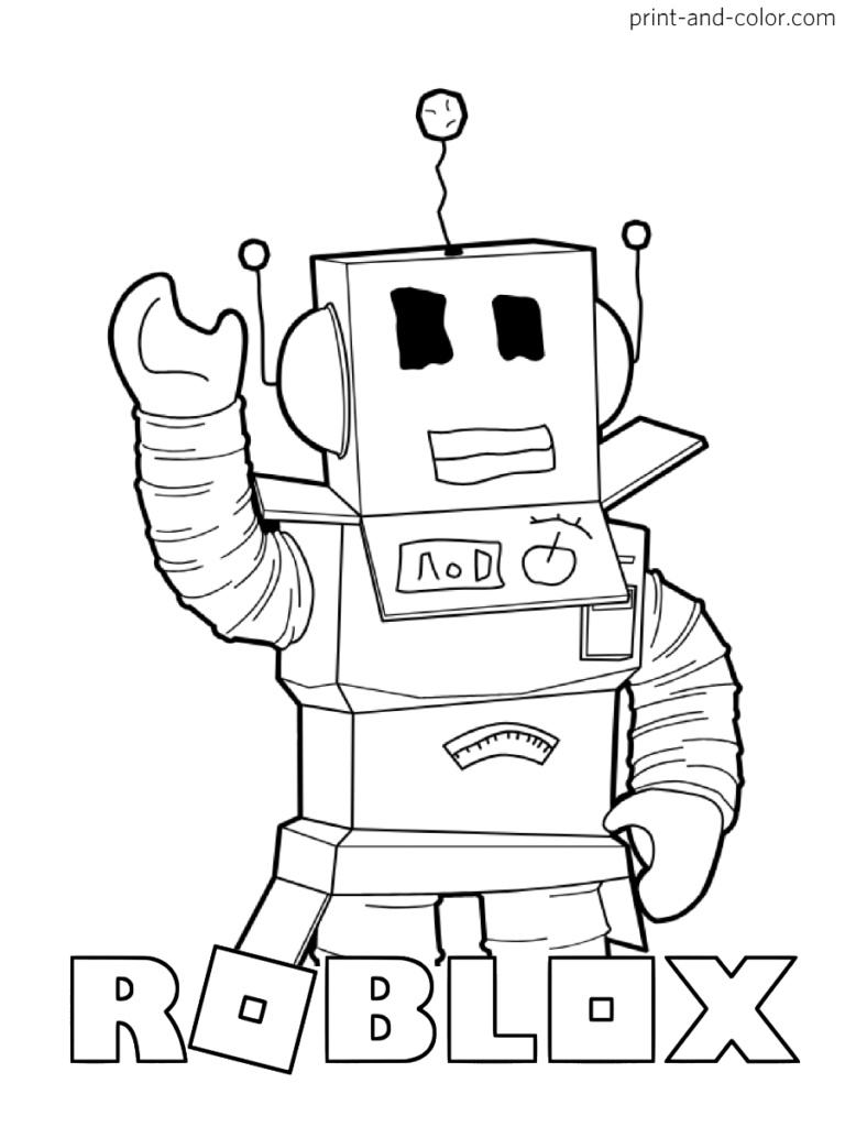 Roblox Coloring Pages Print And Color Com Coloring Pages For Boys Shopkins Colouring Pages Cartoon Coloring Pages