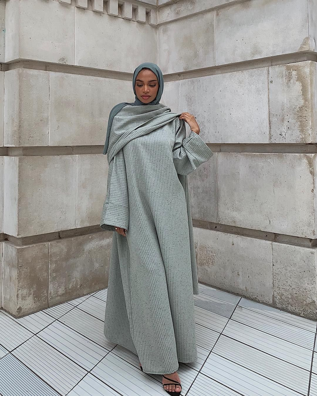 """Photo of Nia Amroun ? on Instagram: """"Statue of Liberty's Sister ? Wearing @fjscollection Eid collection"""""""