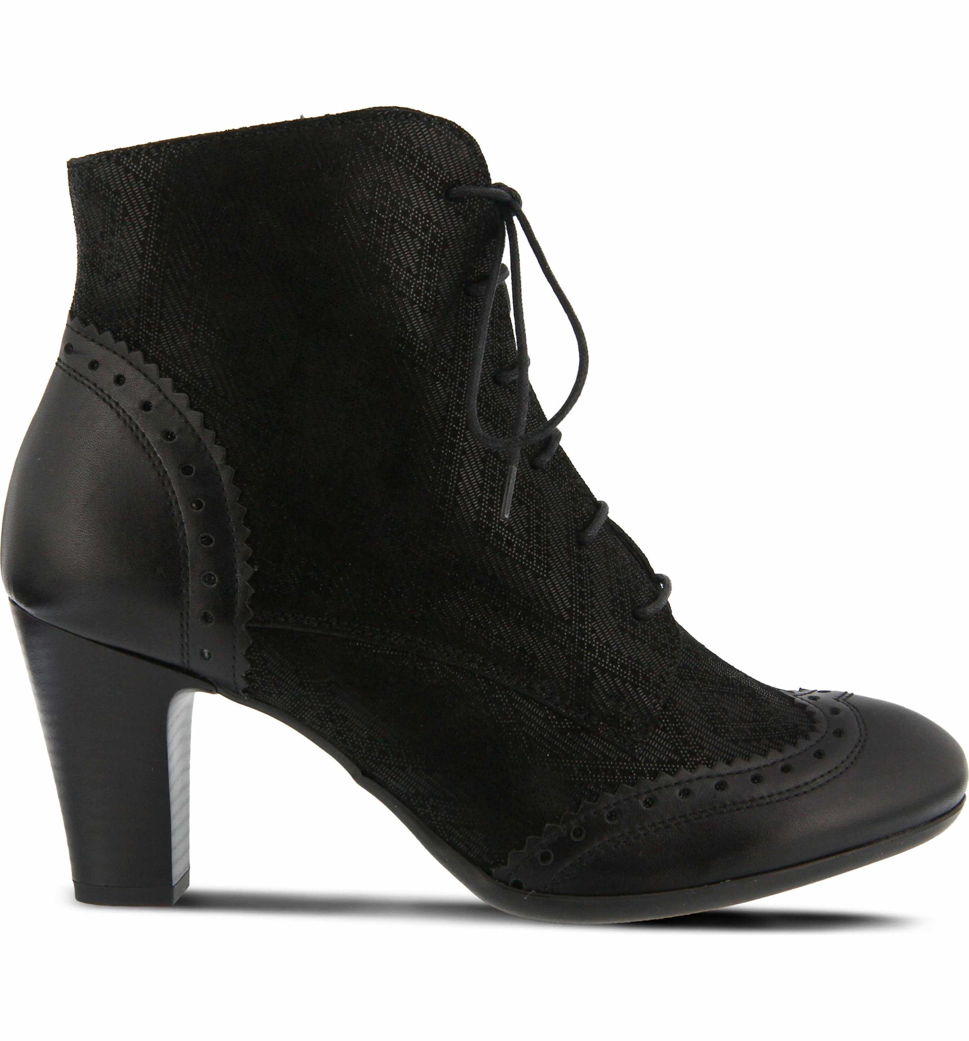 025f6cf737744 Main Image - Spring Step Gem Lace-Up Bootie (Women) | bootses ...