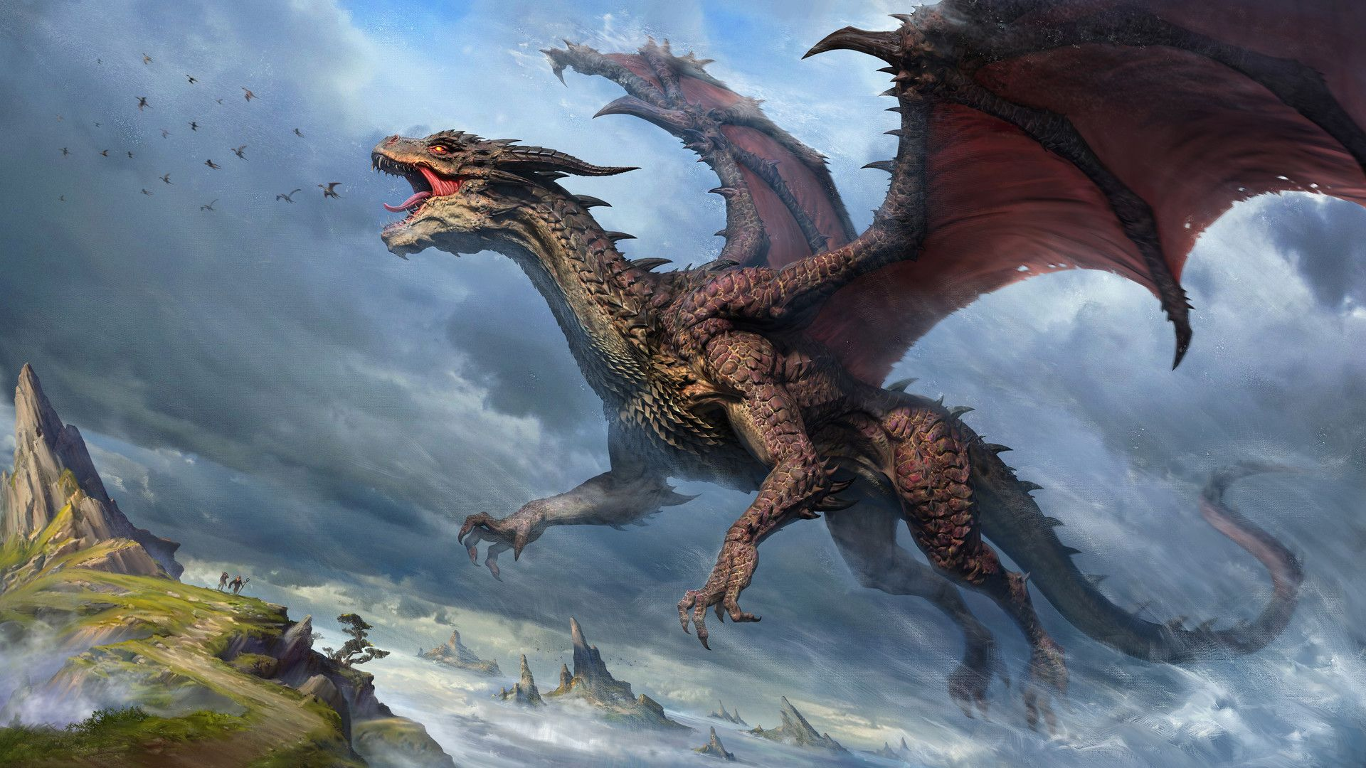 artstation - dragon, lin wu | dragons | pinterest | dragons