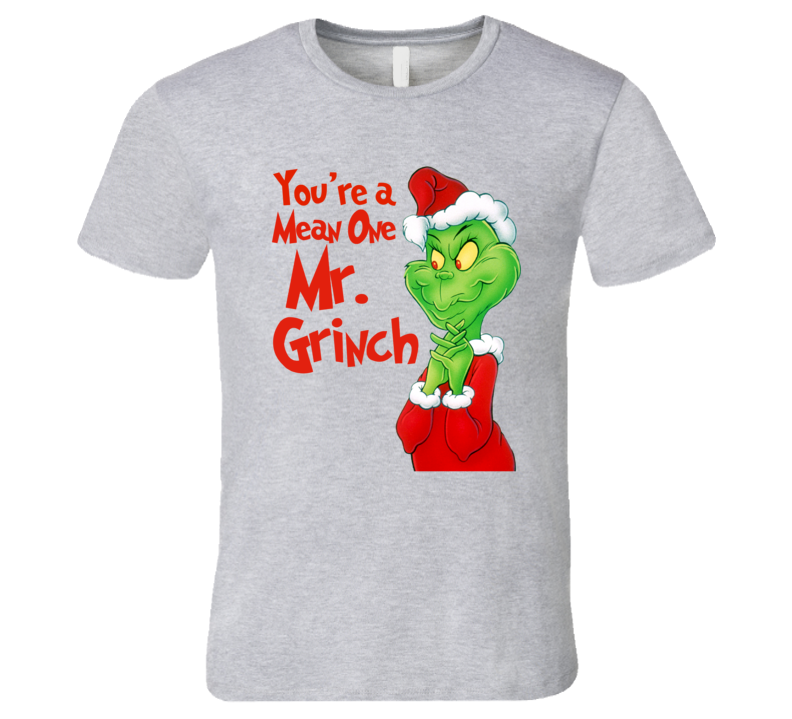 089988254 How The Grinch Stole Christmas Classic Cartoon Graphic T-Shirt ...