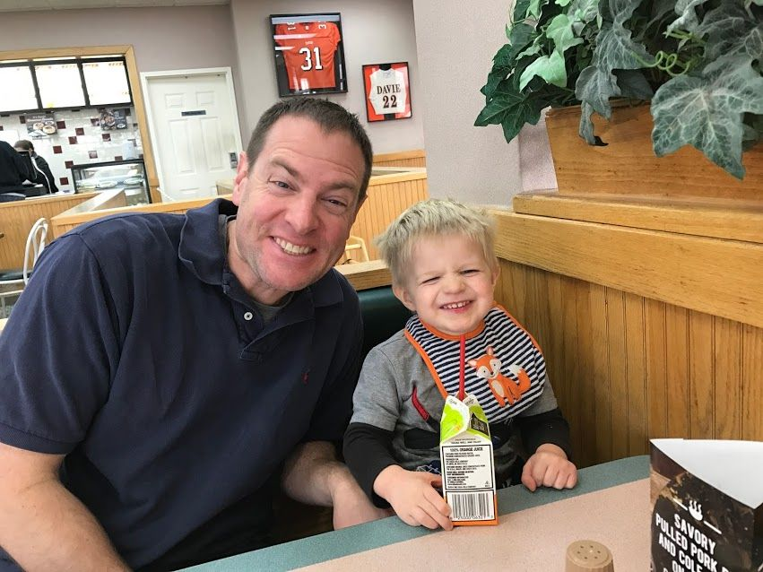Gavin's 2.5 year old update…..where has the time gone?