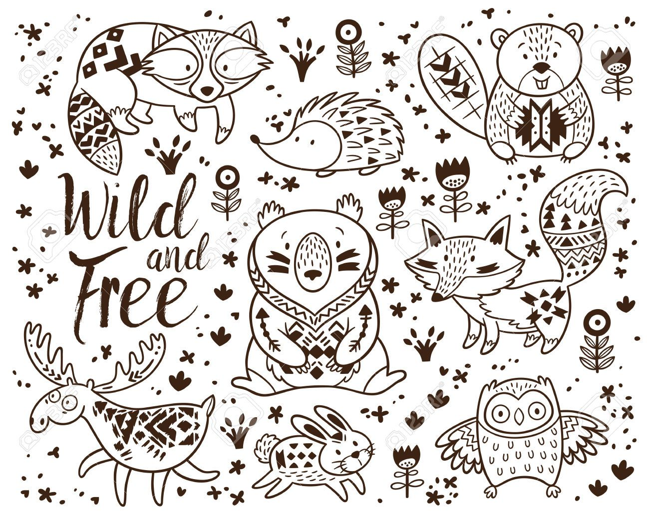 Pin By Beth Bouchard On 1200 Sq Ft House Plans Animal Coloring Pages Animal Coloring Books Coloring Pages