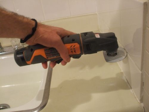 Removing Tile Grout Is Easy Remove Rip With Tool