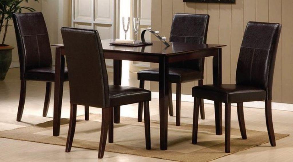 Stuhl Esstisch Set Küchen 4 Stuhl Esstisch Set – Dieses 4 Stuhl ...