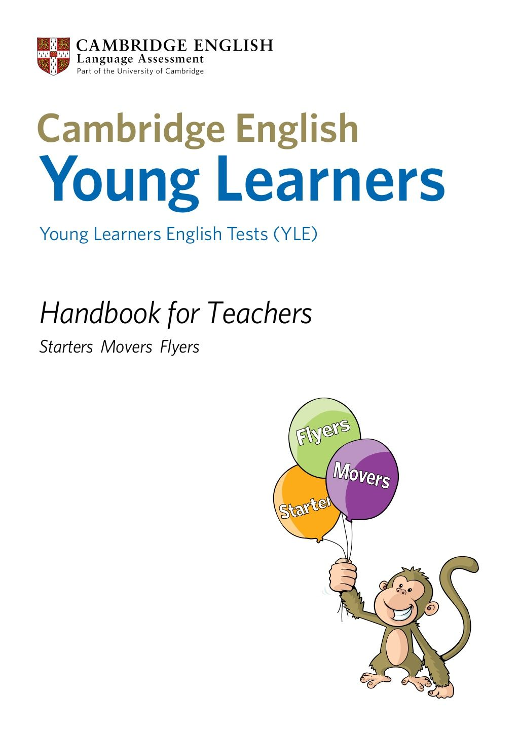 Handbook For Teachers Starters Movers Flyers Young