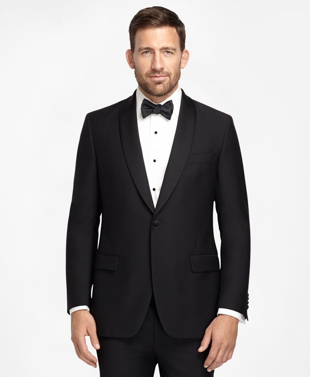 Men's One-Button Fitzgerald Fit Tuxedo | Brooks Brothers