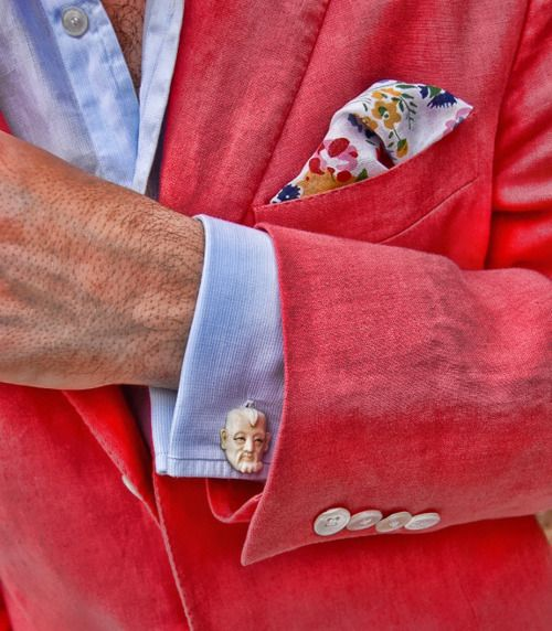 Cuff Links: A great place to show your personality in the details of formal wear.