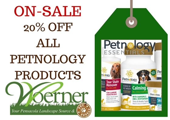 20 Off All Our Petnology Products This Week Here At Woerner
