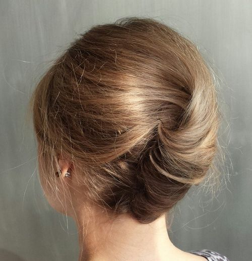 50 Stylish French Twist Updos Hair Styles Thin Hair Updo Twist Hairstyles