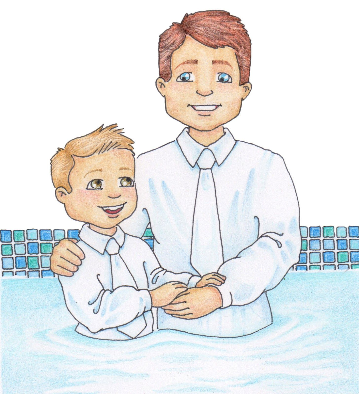 baptism jpeg 1 456 1 600 pixels church teaching helps activity rh pinterest com baptism clip art adult girl LDS Baptism Program