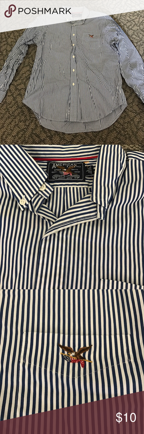 American Living Dress Shirt Size Large My Posh Picks Pinterest