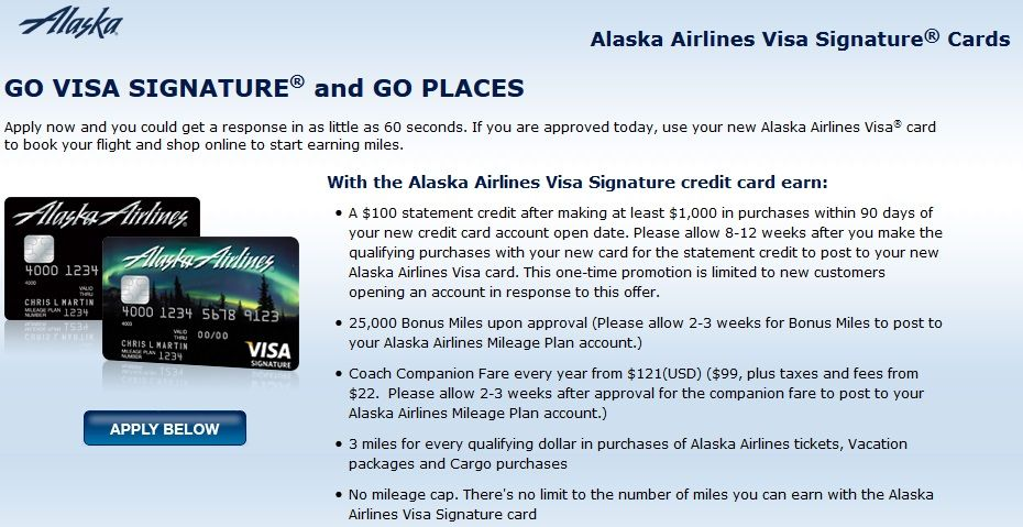 Alaska Airlines Credit Card With 100 Statement Credit Is Back Points With A Crew Airline Credit Cards Alaska Airlines Credit Card Statement