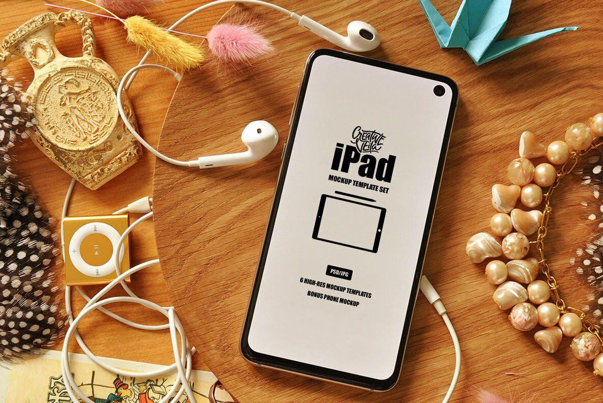 iPad PSD Mockup Template Set in 2020 Ipad mockup, Ipad