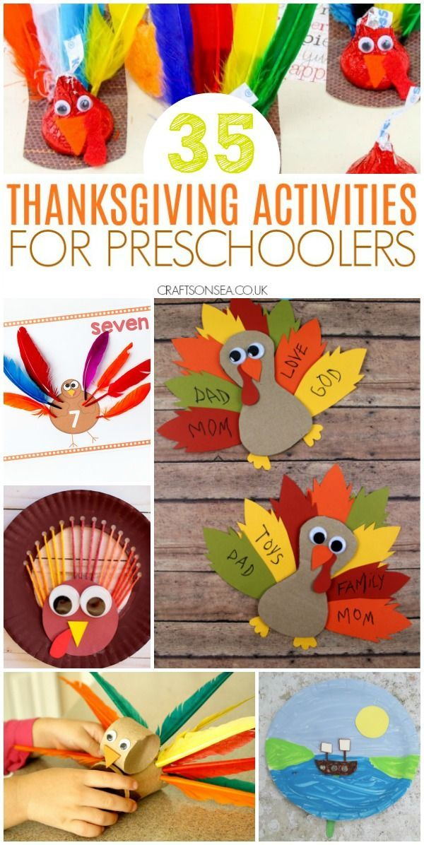 35 Easy and Fun Thanksgiving Activities for Preschoolers - Thanksgiving crafts for kids, Thanksgiving activities, Thanksgiving preschool, Thanksgiving kids, Preschool crafts, Thanksgiving fun - Easy, simple, but most of all fun  Get all the inspiration you need for Thanksgiving activities for preschoolers with crafts, maths, science and coloring pages