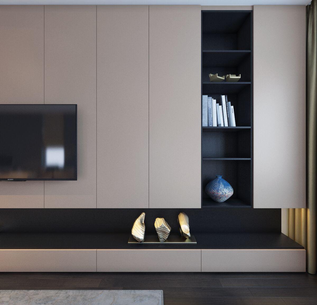 Cabinet in 2019   Bedroom tv wall, Tv in bedroom, Living ...