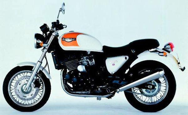 2000 Triumph Thunderbird Sport #motorcycles #motocicletas