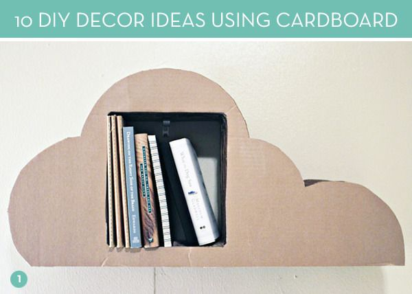 Diy Ideas 10 Clever Ways To Use Cardboard In Your Decor Diy