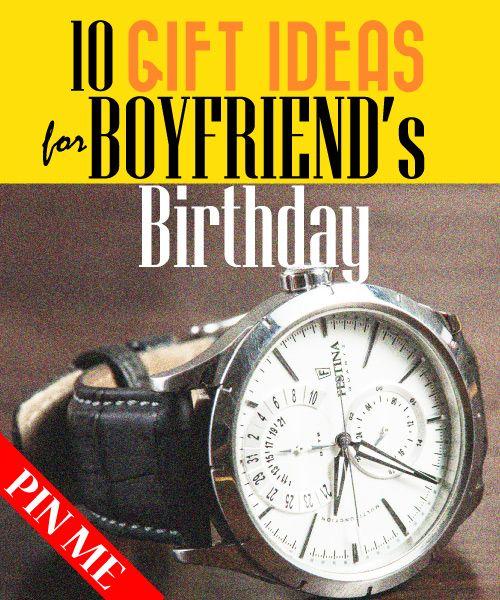 Best Gift Ideas for Boyfriend's Birthday