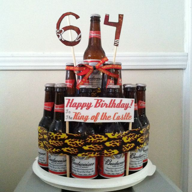 Beer Bottle Castle Cake For Jason Magic Hat Of Course