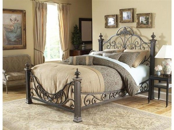 Fantastically Hot Wrought Iron Bedroom Furniture | Pinterest ...