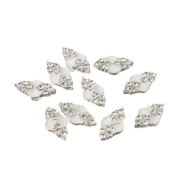 Diamantes de imitación diamante de cristal transparente de uñas ...