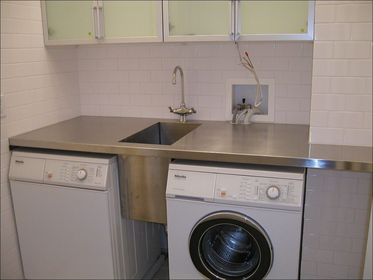 your interior wash needs laundry garage room shop fits small steel utility cabinet that stainless sink bar tub