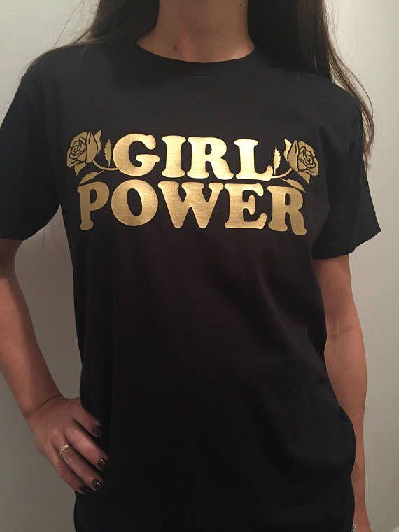 1c8f3d9fef0 Girl Power Shirt Girl Power Tshirt Feminist Tee Girl Power