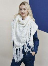 Bergère de France - Mag. 11 -  06 Cheich scarf   WHITE is the new ... 2df64fc847e
