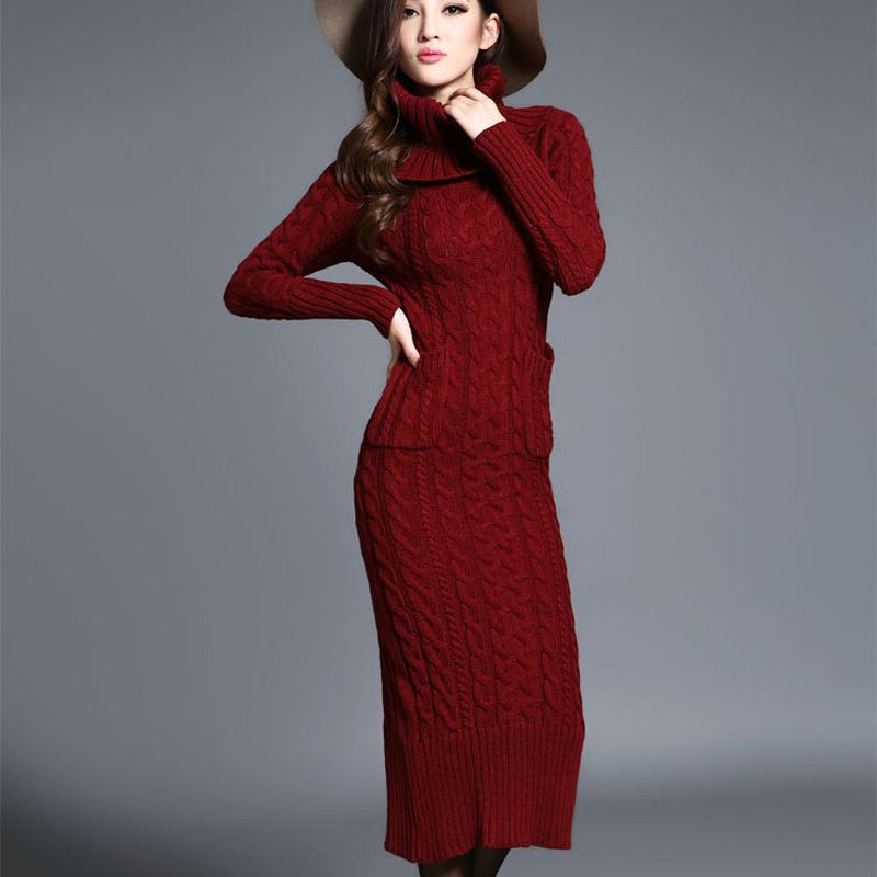 #aliexpress, #fashion, #outfit, #apparel, #shoes 2015, #Winter, #Europe, #<font><b>Women</b></font>, #<font><b>Dress</b></font>, #Thick, #Warm, #Turtleneck, #Knit, #Pullover, #Sweater, #<font><b>Dress</b></font>, #Long, #Sleeve, #Maxi, #<font><b>Dress</b></font>, #DX200 http://s.click.aliexpress.com/e/eQZ37muJQ