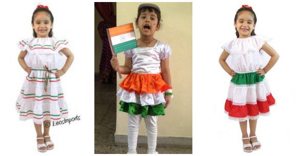 Dress Up in Tricolour on 26th January Republic Day