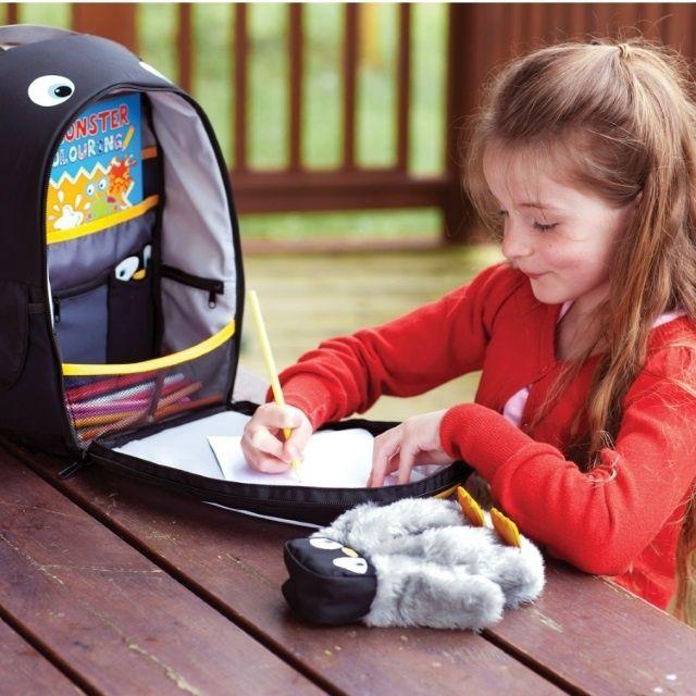 Littlelife Plecak Z Piornikiem Pingwin Kids Playing Baby Car Seats School Accessories