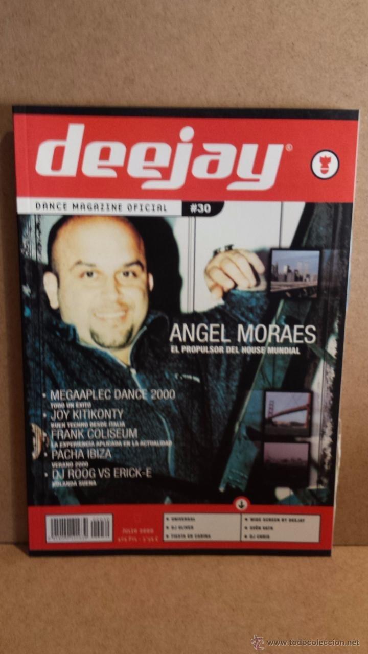 DEEJAY. DANCE MAGAZINE OFICIAL / Nº 30 - JULIO 2000. COMO NUEVA.