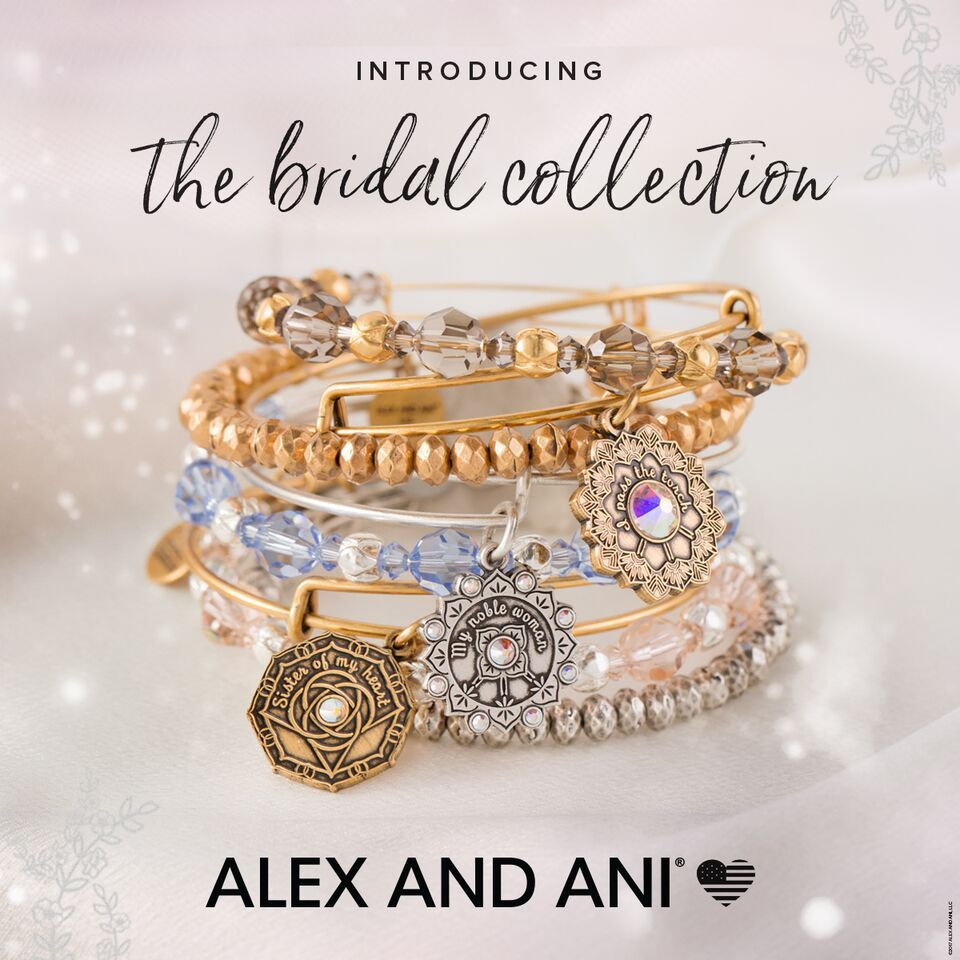New Bridal Collection By Alex And Ani Is In Stock Now These