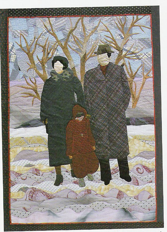This quilt was made of old neckties by Kathryn Vitek of Maryland ... : quilting art - Adamdwight.com