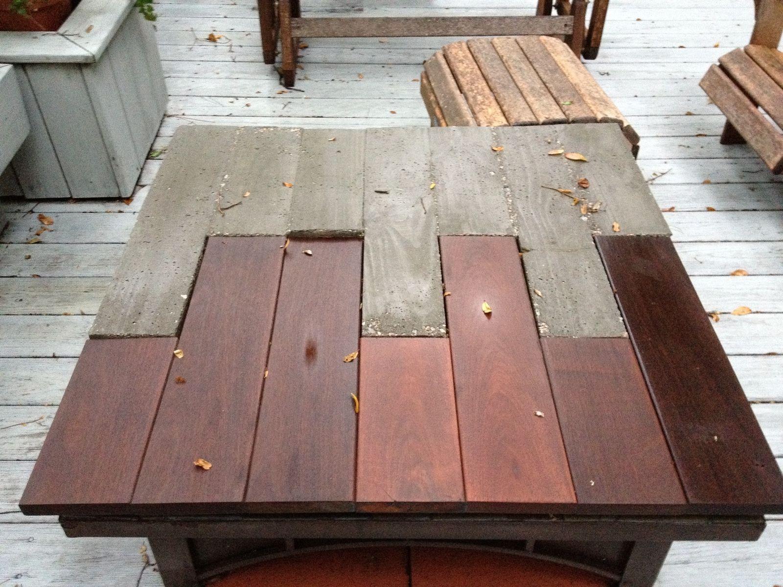 Best 25+ Concrete table ideas on Pinterest   Concrete table top ...