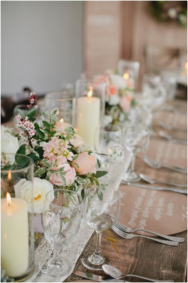 Rustic, Vintage-Styled Wedding Centerpieces | Rustic wedding ...