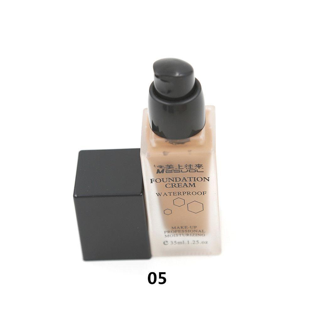 Waterproof Creamy Silk Liquid Foundation 35ml