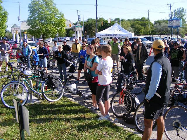 Bike to Work 2009 - Newmarket, Ontario