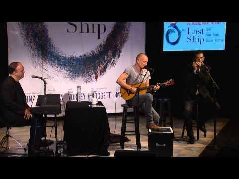 The Last Ship Original Broadway Cast Recording Slated For Release The Last Ship Universal Music Choreography