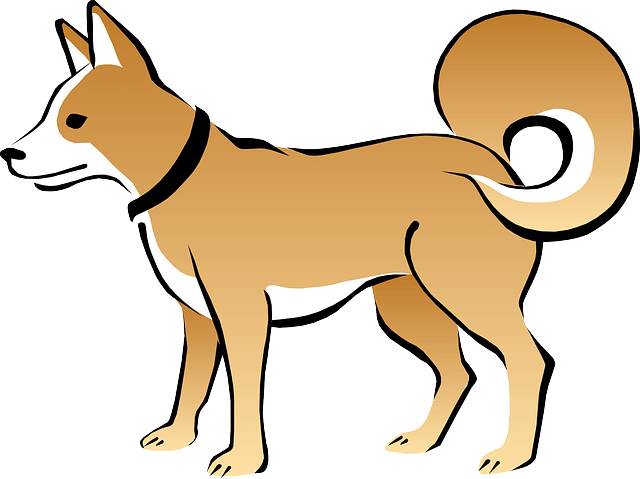 Top 9 Ways Dogs Communicate With You Dogspaceblog In 2021 Dog Clip Art Dog Coloring Page Cute Cats And Dogs