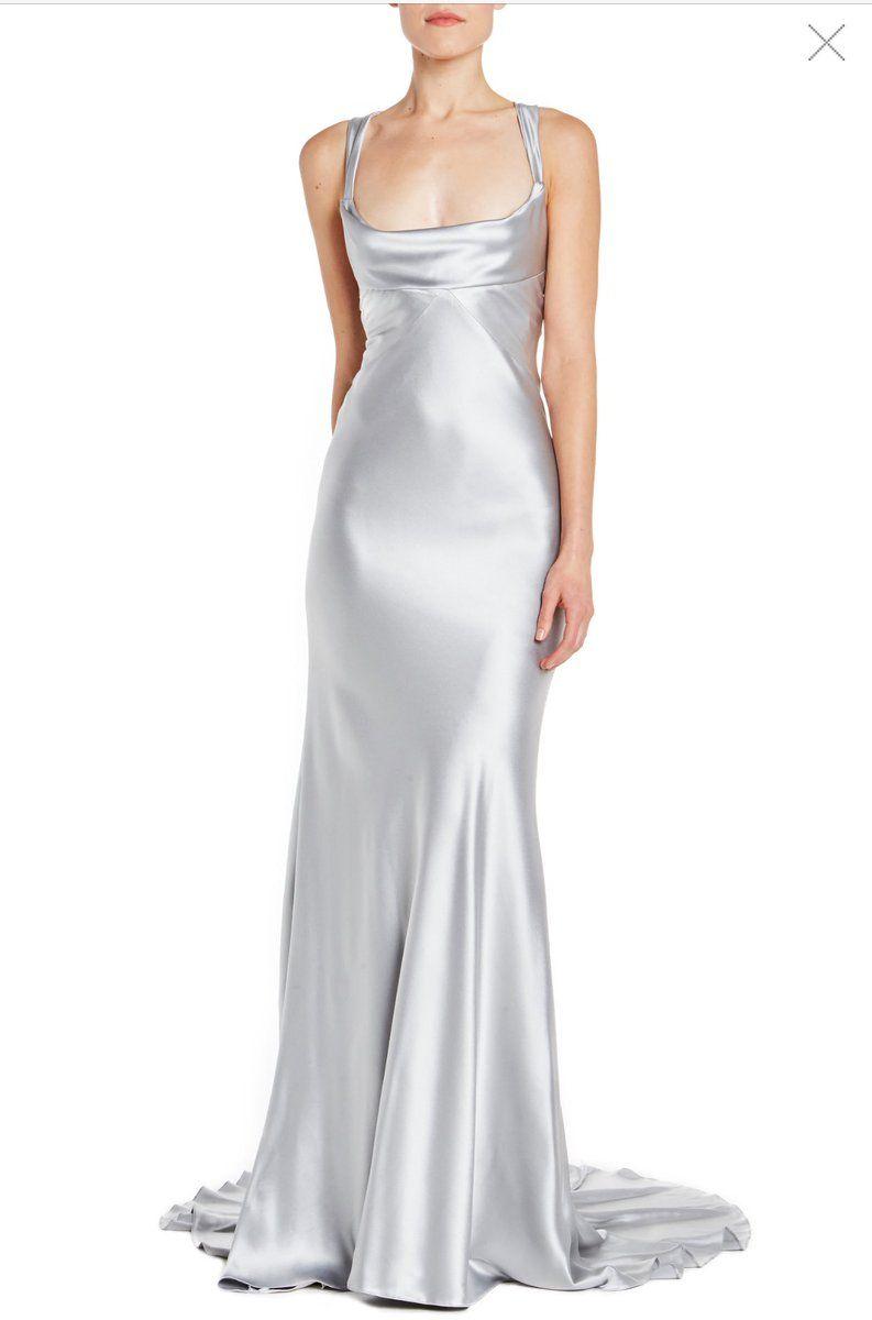 elegante Nicki panno di seta classico in nero e bianco