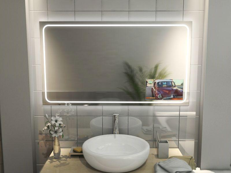 Tv Spiegel Led Ayla Kaufen Spiegel Spiegel Mit Beleuchtung Badspiegel