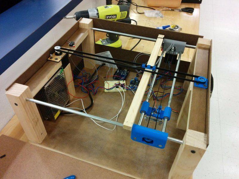 2W Arduino Laser Engraver/Cutter Cnc fräsmaschine, 3d