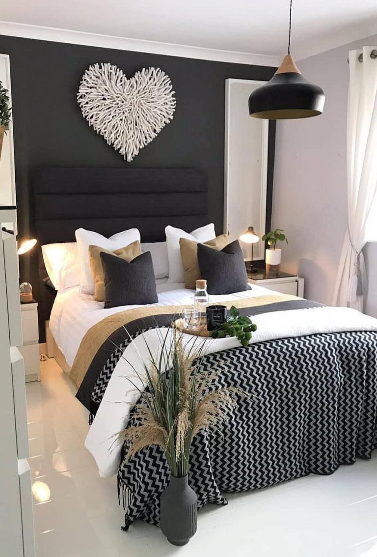 45 Beautiful And Modern Bedroom Decorating Ideas For This Year Page 7 Of 45 Evelyn S World My Dreams My Colors And My Life Modern Bedroom Decor Master Bedroom Decor Romantic Elegant Bedroom Decorating ideas for bedrooms