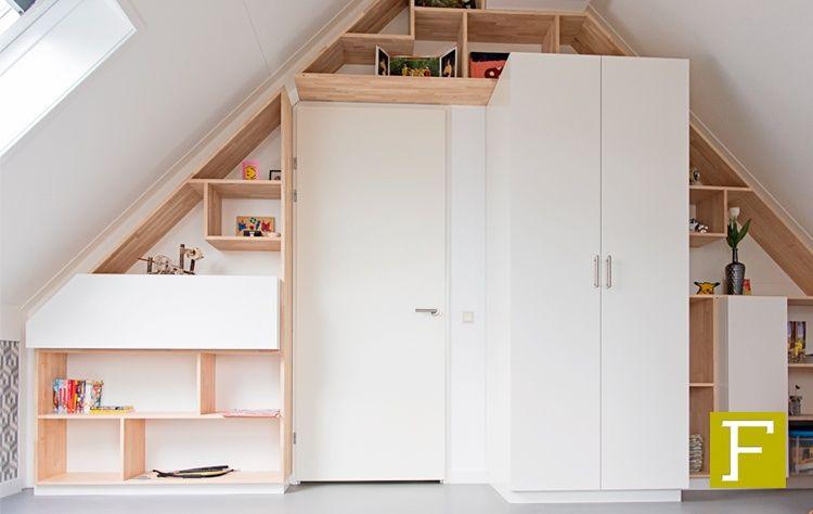 Design Kast Maatwerk : Zolderkamer zolder slaapkamer kast maatwerk hillegom meubelmaker